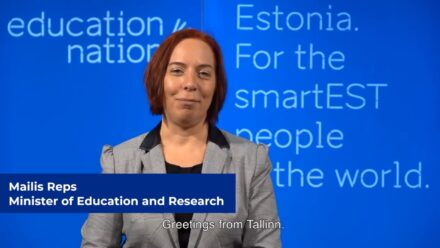 The opening speech by Estonian Minister of Education & Research as first presented at EdTechX Online Summit