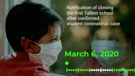 Watch the timeline: What helped Estonia to start distance learning?