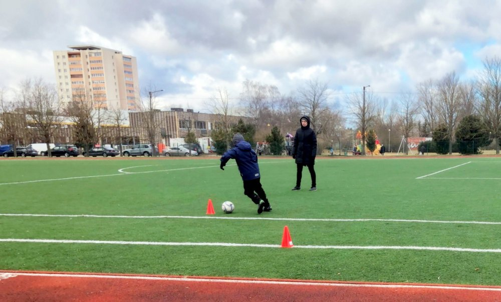 Hobby sport training in Estonia. Photo: Teele