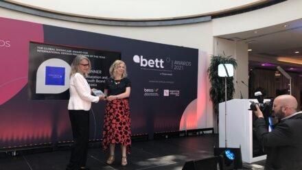 Estonia was awarded the International EdTech Programme of the Year at Bett Awards