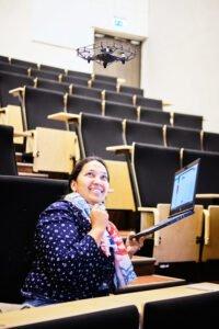 Educational technologist training, drone, Estonia